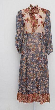 Vestido comprido floral da Zara de edição premium. Tamanho M. 25€