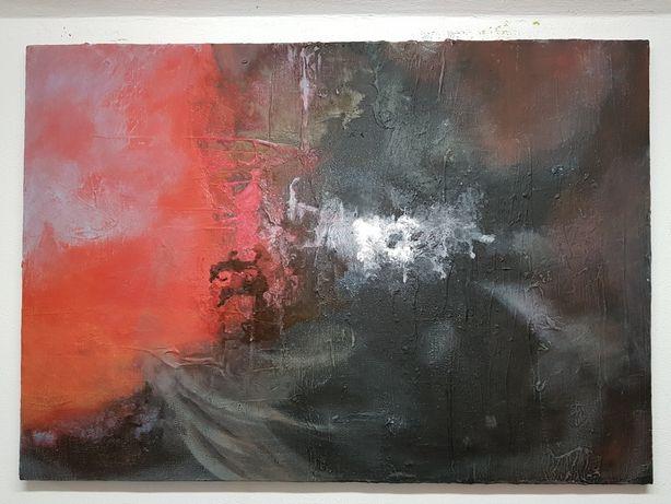 Obraz Akryl, tempera na płótnie 100x70