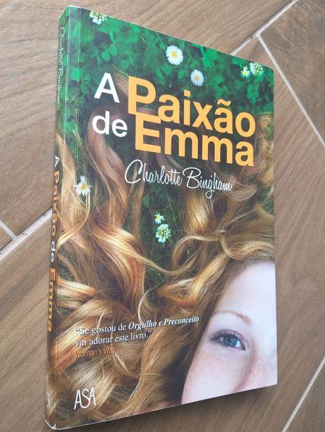 Livro _ A paixão de Emma / Charlotte Biugham