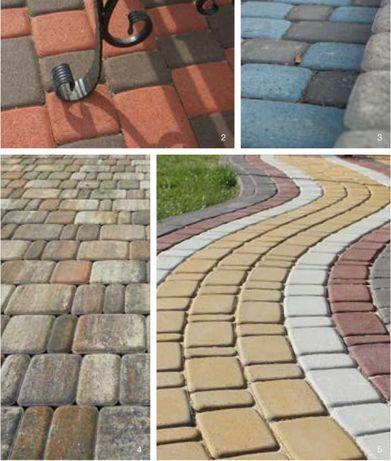 Тротуарная плитка - Старый город
