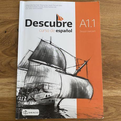 Język hiszpański - Descubre A1.1 zeszyt ćwiczeń
