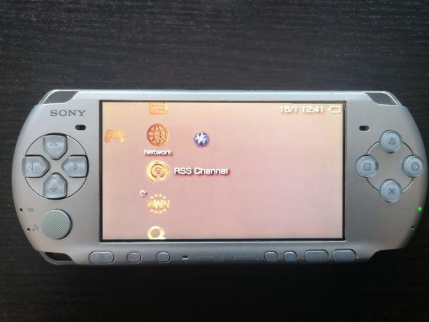 PSP  sony z kablem tv