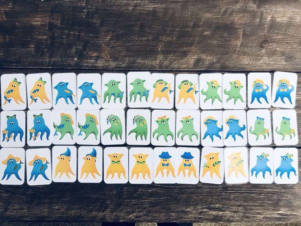 Настольная игра для малышей Осьминожки , Паевская, игры на липучке