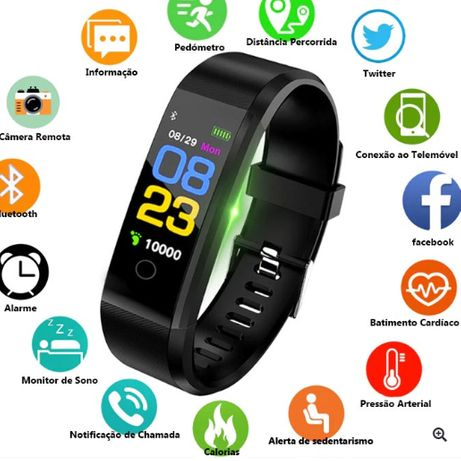 SmartBracelet ID115 Plus / SmartWatch Fitness ID115 Plus / Pulseira