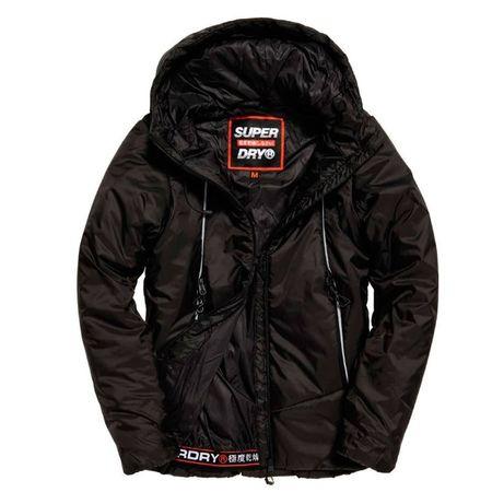 Czarna kurtka SUPERDRY nowy model M Jnowa
