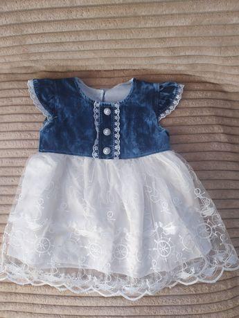 Платье нарядное, платье на годик