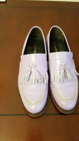 Продаются мужские туфли-лоферы, Италия, р-р 10