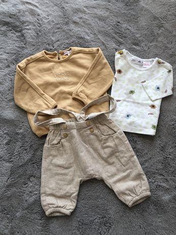 Zestaw ubrań Zara Mini 62 i 68 cm