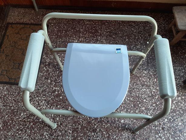 Krzesło toaletowe sanitarne