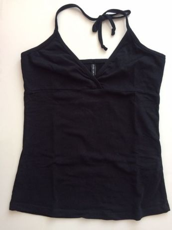 Czarna bluzka na lato