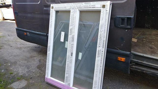 Okno pcv 116/148 mleczna szyba