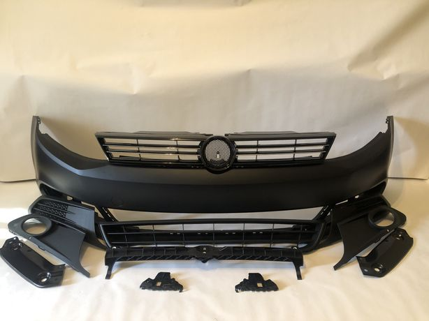 Бампер передній VW Jetta 11-18рік та його комплектуючі