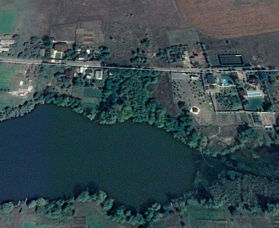 Продам участок 25 соток с берегом ставка 55 метров