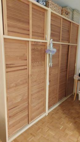 Szafa drewniana  szer.2.5 metra