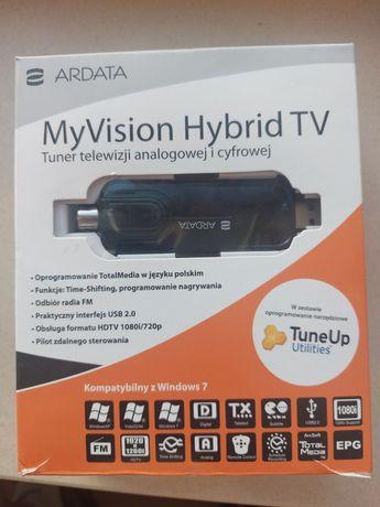 My Vision Hybrid TV tuner TV analogowej i cyfrowej