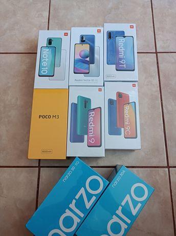 Xiaomi Redmi Note 10 / 9T / 9 / 9C / Poco M3 / Realme Narzo 30 / 30A