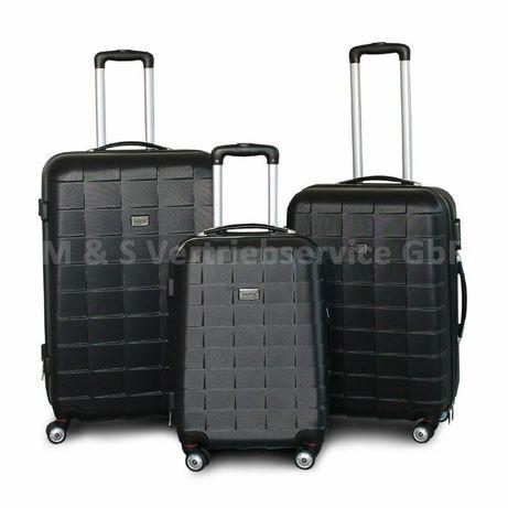 M135552 Zestaw eleganckich walizek podróżnych XL+L+M 3szt ABS mocne