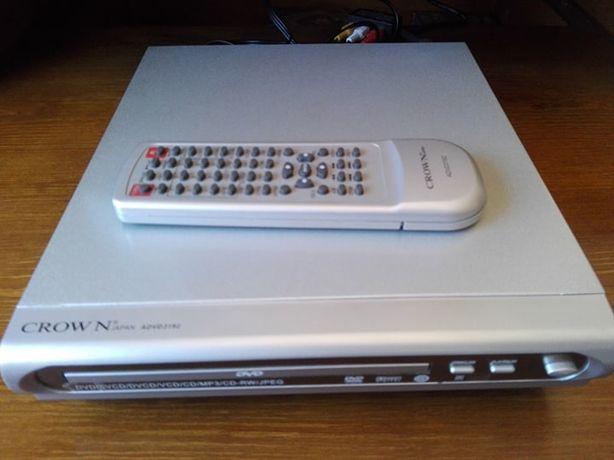 Leitor de CD / DVD, com telecomando