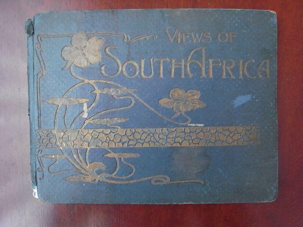 Livro raro África sul paisagem