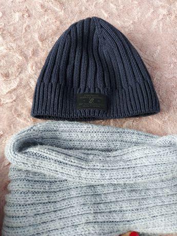 Шапка тёплая зимняя для мальчика
