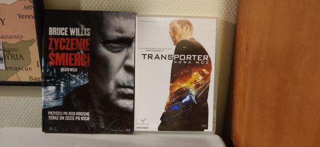 Życzenie śmierci i Transporter Nowa moc DVD na sprzedaż
