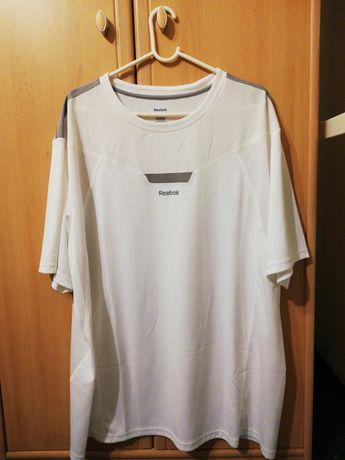 Biały T-shirt Reebok XL