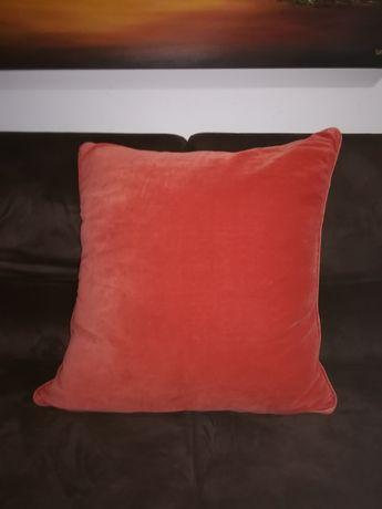 4 almofadas cor de laranja