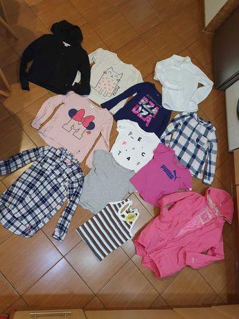 Zestaw firmowych ubrań dla dziewczynki Rozmiar 146