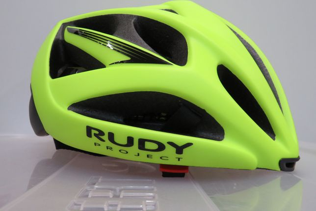 Kask Rowerowy Rudy Project Airstorm Yellow Fluo rozm. 54 - 58 cm