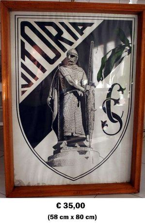 Vitória de Guimarães - Posters em molduras