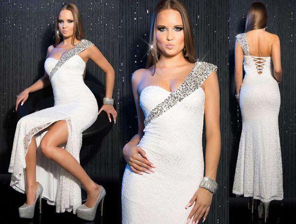 suknia ślubna sukienka wesele cywilny M 38