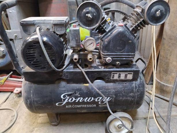 Компрессорная головка и электромотор