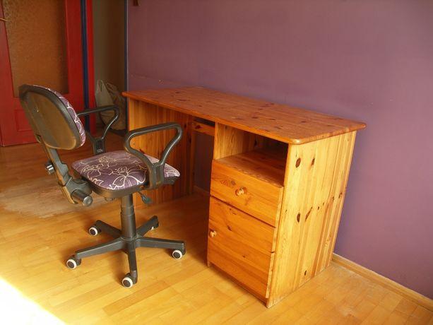 Sprzedam biurko + fotel + gratis