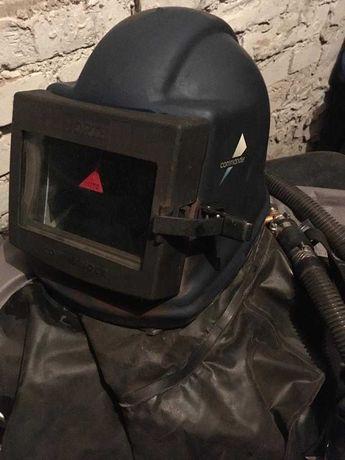 hełm do piaskowania,śrutowania firmy Commander