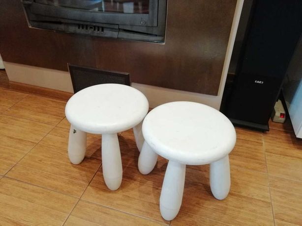 Taboret Mamut Mammut Ikea krzesła