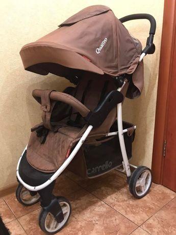 Продам прогулочную коляску Carrello Quatro