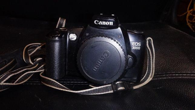 Câmera fotográfica canon eos 3000 analogica
