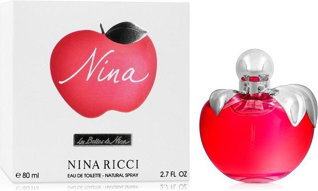 Туалетная вода Nina Ricci  80ml оригинал Нина Риччи красное яблоко