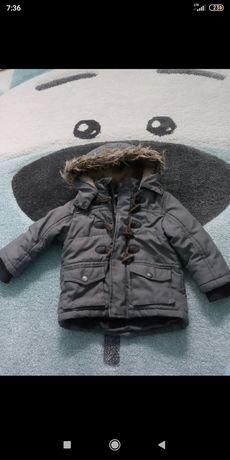 Zimowa kurtka dla chłopaka
