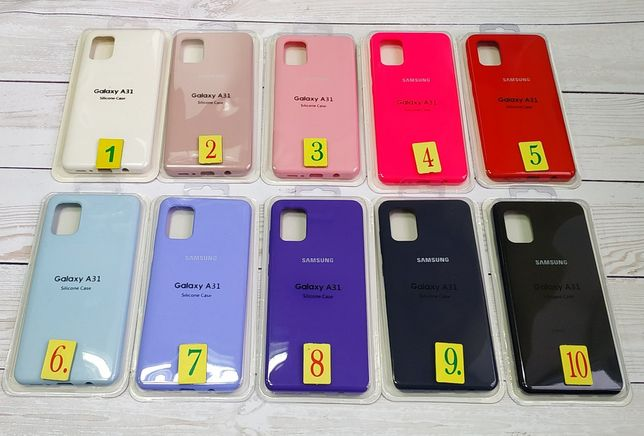 чехол original на Samsung A31 A41 A01 A51 A71 M31 A50 A20S A50S A20