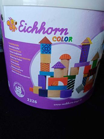 2ª mão - marca Eichhorn-brinquedo educativo, 48 peças, bom estado, 8 €