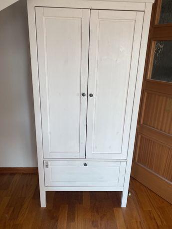 Szafa Sundvik dziecięca Ikea biała