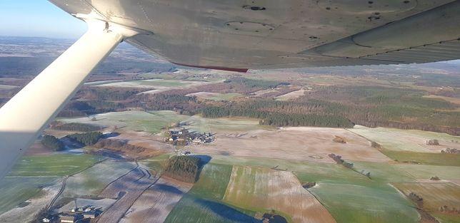 Lot widokowy samolotem 1h