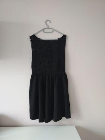 Sukienka czarna elegancka S 36