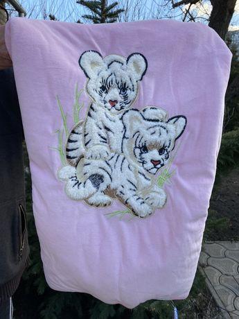 Детское одеяло, детский конверт - одеяло
