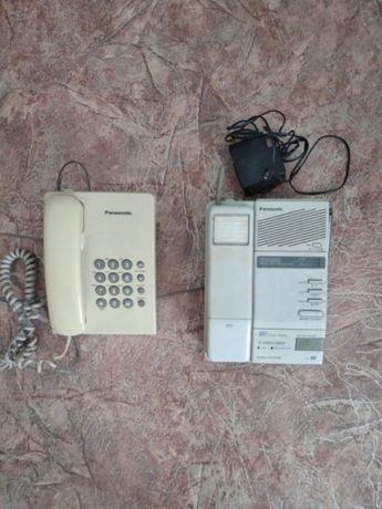 Продам два стационарных телефона Panasonic