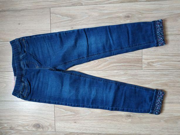 Rurki jeansowe r. 134 NOWE