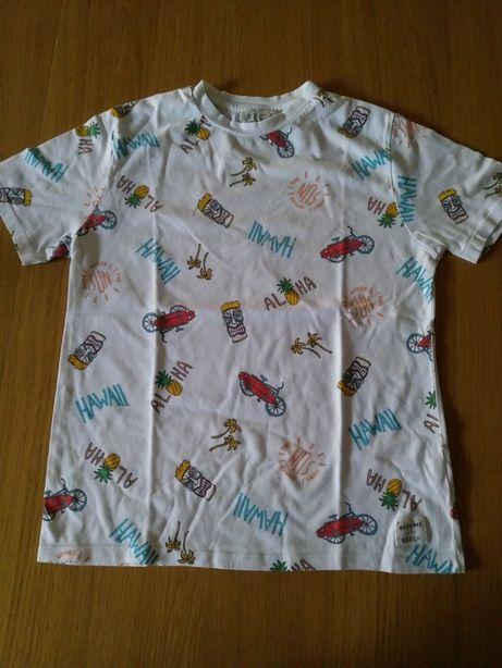 T shirt chłopięcy Zara