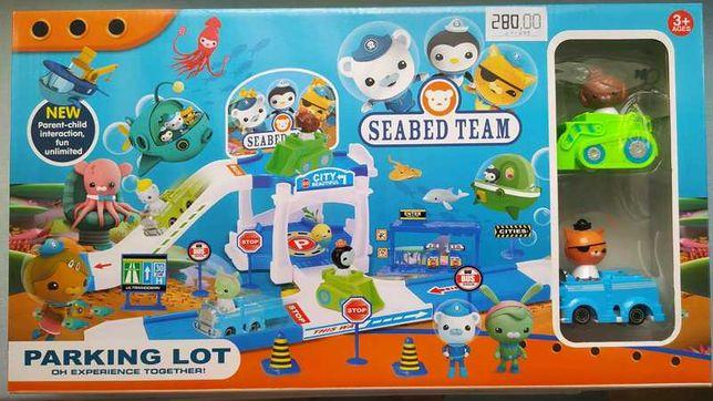 Игровой набор паркинг подводная команда