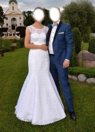 Suknia ślubna Syrenka rozmiar 36